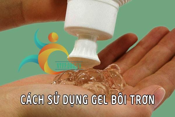 Cách sử dụng gel bôi trơn Durex