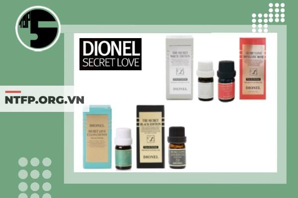 Bốn mùi hương hiện có của Dionel Secret Love