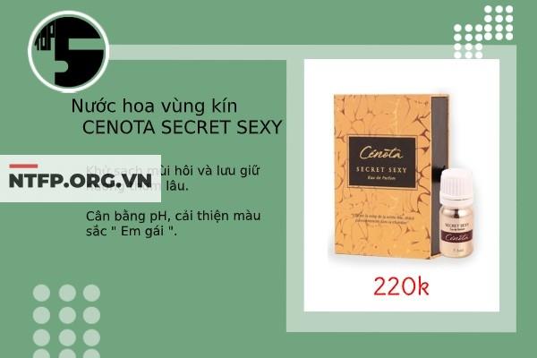 Cenota Secret Sexy là dòng nước hoa vùng kín đến từ Pháp