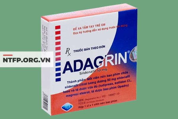 Adagrin là thuốc gì?